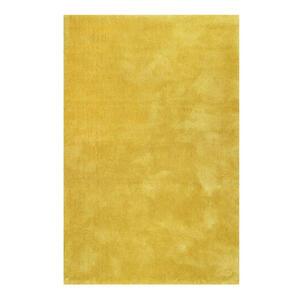 Esprit Hochflorteppich 160/230 cm getuftet gelb , Relaxx Esp-4150 , Textil , Uni , 160x230 cm , für Fußbodenheizung geeignet, in verschiedenen Größen erhältlich, lichtunempfindlich, pflegeleicht