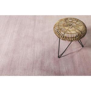 Esprit Hochflorteppich 200/200 cm getuftet rosa , Loft Esp-4223 , Textil , Uni , 200x200 cm , für Fußbodenheizung geeignet, in verschiedenen Größen erhältlich, lichtunempfindlich, pflegeleicht,