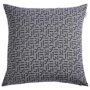Esprit Kissenhülle anthrazit 45/45 cm , E-Scatter , Textil , 45x45 cm , 003021090201