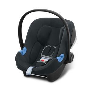 Cybex Babyschale aton b i-size , 520003986 Aton B I-Size , Grau , Kunststoff, Textil , 44x39-56.5x66 cm , Mikrofaser , abnehmbarer und waschbarer Bezug, ergonomischer Tragebügel, Flugzeugzulassung,