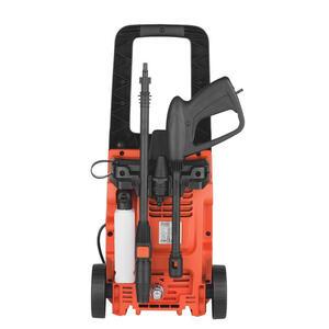Black & Decker Hochdruckreiniger , 801628714108 , Rot, Schwarz , Kunststoff , 29x45.5x26 cm , 006287114001