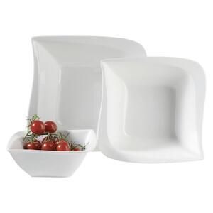 XXXLutz Schüsselset keramik porzellan 3-teilig , La Musica 3-tlg. Weiß , Weiß , 003175018104