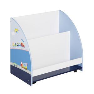 Roba Kinderregal , 450163D331 , Blau, Weiß, Dunkelblau , 60x60x40 cm , lackiert, bedruckt,Nachbildung , 004204015804