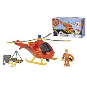 Simba Hubschrauber , 109251077 Feuerwehmann Sam , Multicolor, Rot , Kunststoff , 25x15x11.5 cm , Geräuscheffekte, Lichteffekte, Scheinwerfer, Sirene,Geräuscheffekte, Lichteffekte, Scheinwerfer, Sir