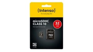 Intenso Micro SDHC-Karte, 32 GB, Class 10 UHS-I