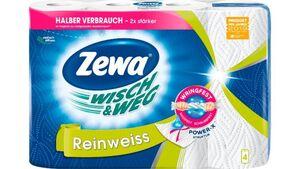 Zewa WISCH & WEG Reinweiss