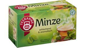 Teekanne Minze Tee