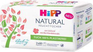 HiPP Babysanft Feuchttücher Natural duftend 2x60