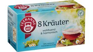 Teekanne 8 Kräuter Tee