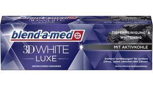 Blend-a-med 3DWhite Luxe Zahncreme mit Aktivkohle