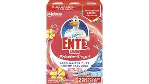 WC-Ente Frische-Siegel 2er Nachfüller Blüten-Oase