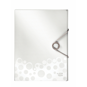 Heftbox A4 -  Bebop - weiß