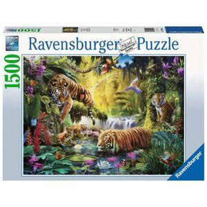 Puzzle - Idylle am Wasserloch - 1500 Teile