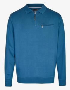 Bexleys man - Polo-Sweatshirt aus Pima-Cotton