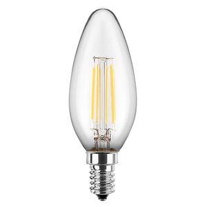 Blulaxa LED-Filament-Lampe Kerzenform 4,5W E14