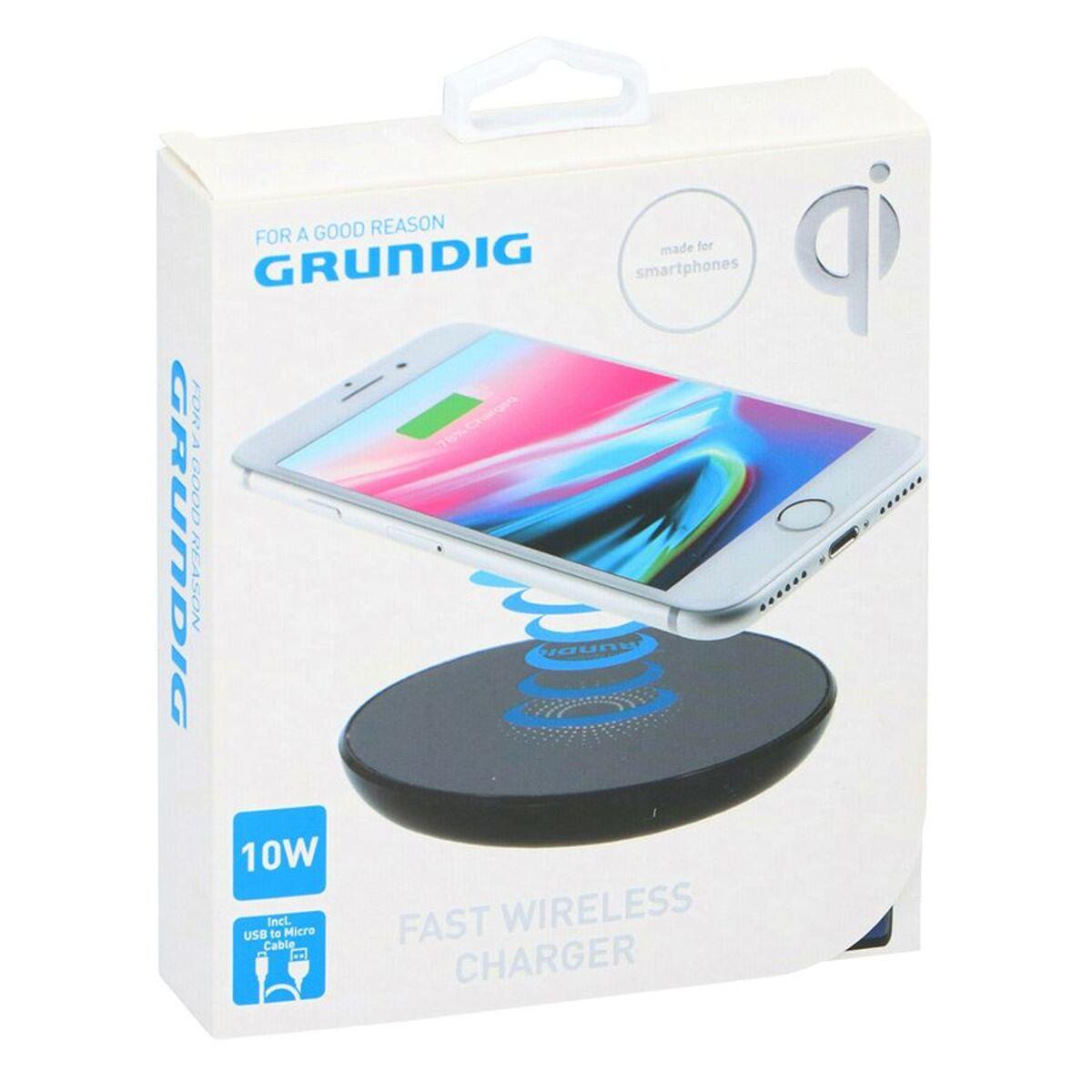 Bild 4 von Grundig Wireless Smartphone-Schnellladepad