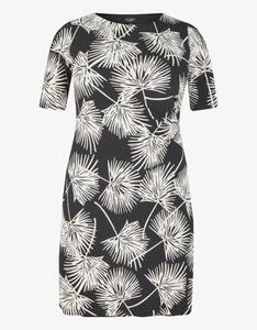 Bexleys woman - Jerseykleid mit Druck und Drapierung