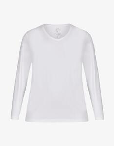 Thea - Basic-Shirt aus Baumwoll-Stretch-Qualität
