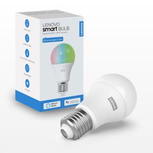 Lenovo Smart Bulb [E27 Sockel, 16.8 Mio Farben, Sprachsteuerung, 800 lm]