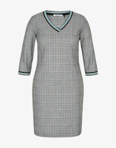 Steilmann Woman - Glencheck-Kleid mit V-Ausschnitt