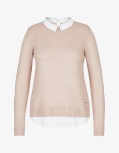 Steilmann Woman - Pullover mit Bluseneinsatz