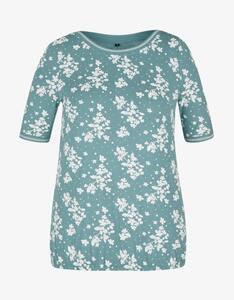 Bexleys woman - Shirt im floralen Design