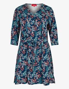 Thea - Jersey-Kleid mit floralem Druck