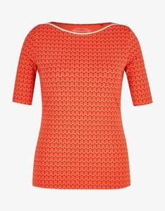 Bexleys woman - gemustertes Shirt aus Pima Cotton