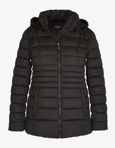 Bexleys woman - Steppjacke mit Lederimitat-Paspeln