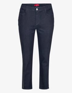 Thea - Jeans-Hose mit Galonstreifen