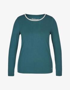 Steilmann Woman - Shirt mit Rundhalsausschnitt und Kugelketten-Besatz