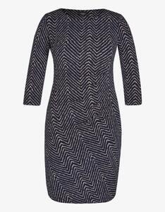 Bexleys woman - Jerseykleid mit Zick-Zack-Muster