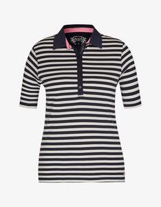 Bexleys woman - gestreiftes Poloshirt aus Pima Cotton