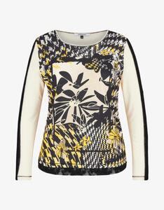 Steilmann Woman - Shirt mit Frontdruck und Spitzendetails
