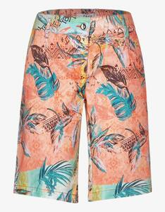 CECIL - Paperbag-Shorts mit floralem Muster