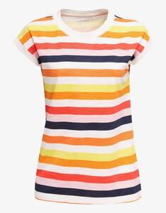Esprit - Jersey-Streifen-Shirt aus Bio-Baumwolle