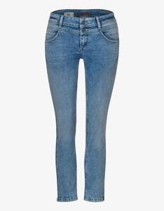 Street One - Jeans-Hose mit Deko-Stickerei, 7/8 Länge, Crissi