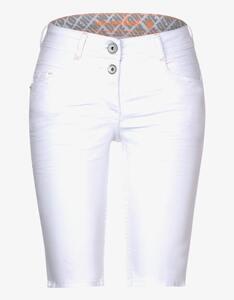 CECIL - Loose Fit Shorts, 5-Pocket, Scarlett
