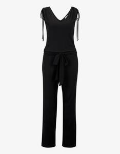 Tom Tailor - Jumpsuit im Culotte-Style mit Bindegürtel