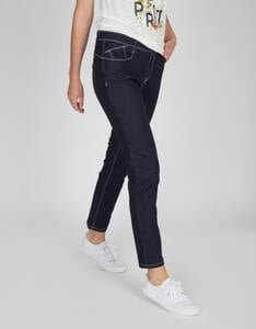 MY OWN - Dark Denim Jeans-Hose, 5-Pocket-Style