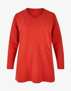 Thea - Sweatshirt mit Streifenstruktur