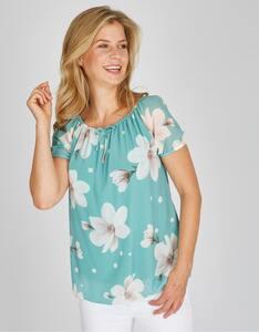 Bexleys woman - Shirtbluse mit Blütenmotiven