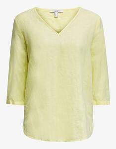Esprit - Bluse aus kühlem Leinen-Mix