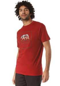Rip Curl Destination Surf - T-Shirt für Herren - Rot