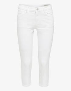 Esprit - Capri-Jeans mit Wrinkle-Effekten