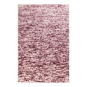 home24 Esprit Wollteppich Lauren Kelim Creme/Rot Rechteckig 130x190 cm (BxT) Wolle/Baumwolle