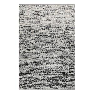 home24 Esprit Wollteppich Lauren Kelim Creme/Schwarz Rechteckig 130x190 cm (BxT) Wolle/Baumwolle