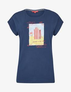 Thea - Shirt mit Front-Print