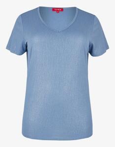 Thea - Shirt mit Glitzereffekt