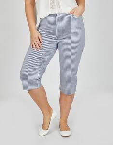 Thea - Capri-Jeans im Streifen-Look